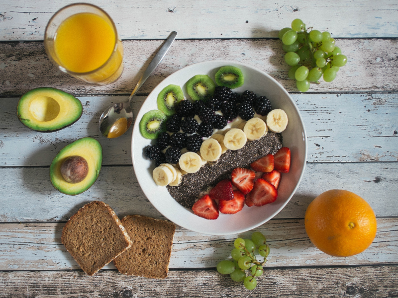 5 healthy and refreshing breakfasts for the summer