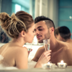 how to make love to a man in the bathroom
