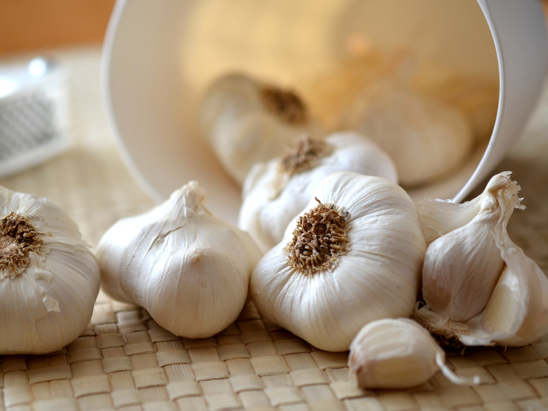 the fear of garlic exists